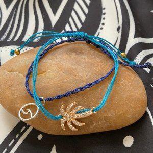Surfer 🏄♀️ wave braided bracelet